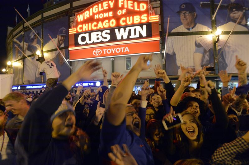 The NLDS Game 4 clincher made Wrigleyville the happiest place on Earth.
