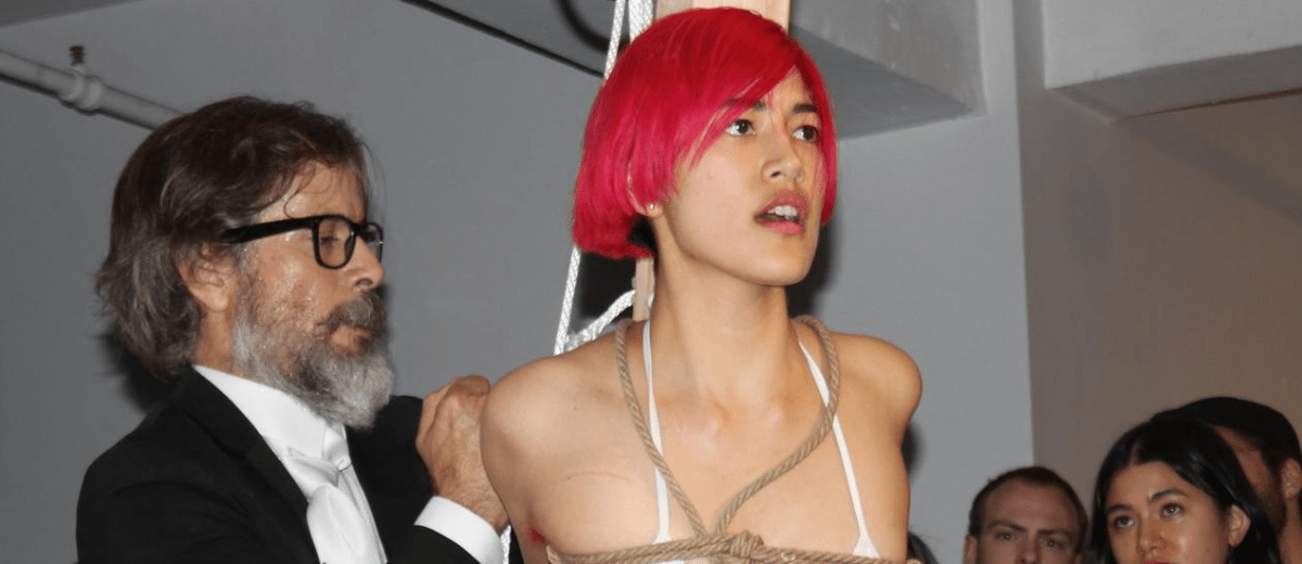 Mattress Girl Gets Slapped Around By Dominatrix, Simple-Minded Leftists Call it Art