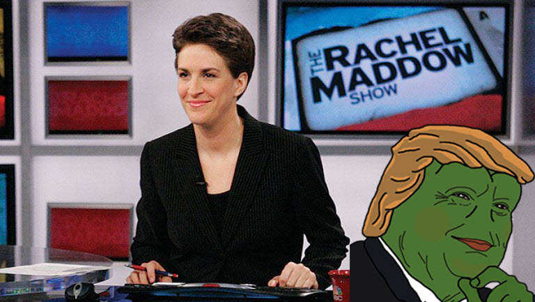 RACHEL GOES FULL RETARD: Maddow Makes Herself a LAUGHINGSTOCK With Pathetic Trump Tax Leak