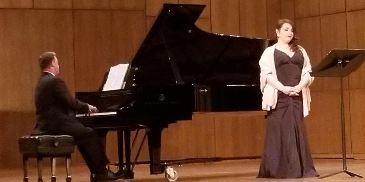 Garcia performs a culturally-inclusive recital at Martin Hall