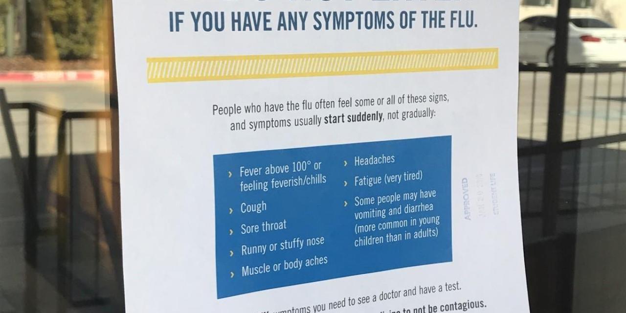 Texas Wesleyan hit hard by flu epidemic