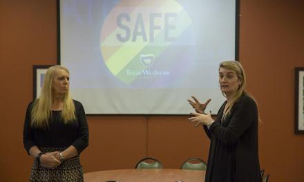 "LGBTQ activists discuss creating ""safe zones"""