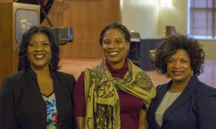 Students celebrate Black History Month in Martin Hall