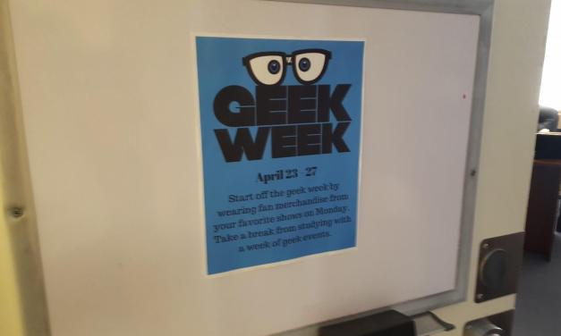 Geek Week encourages students to embrace their passions