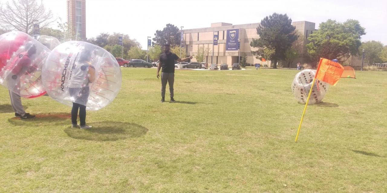PAC, SGA host activities on the mall