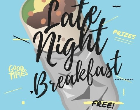 PAC to host late-night breakfast event