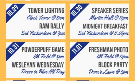 Rams Up! to the start of homecoming week