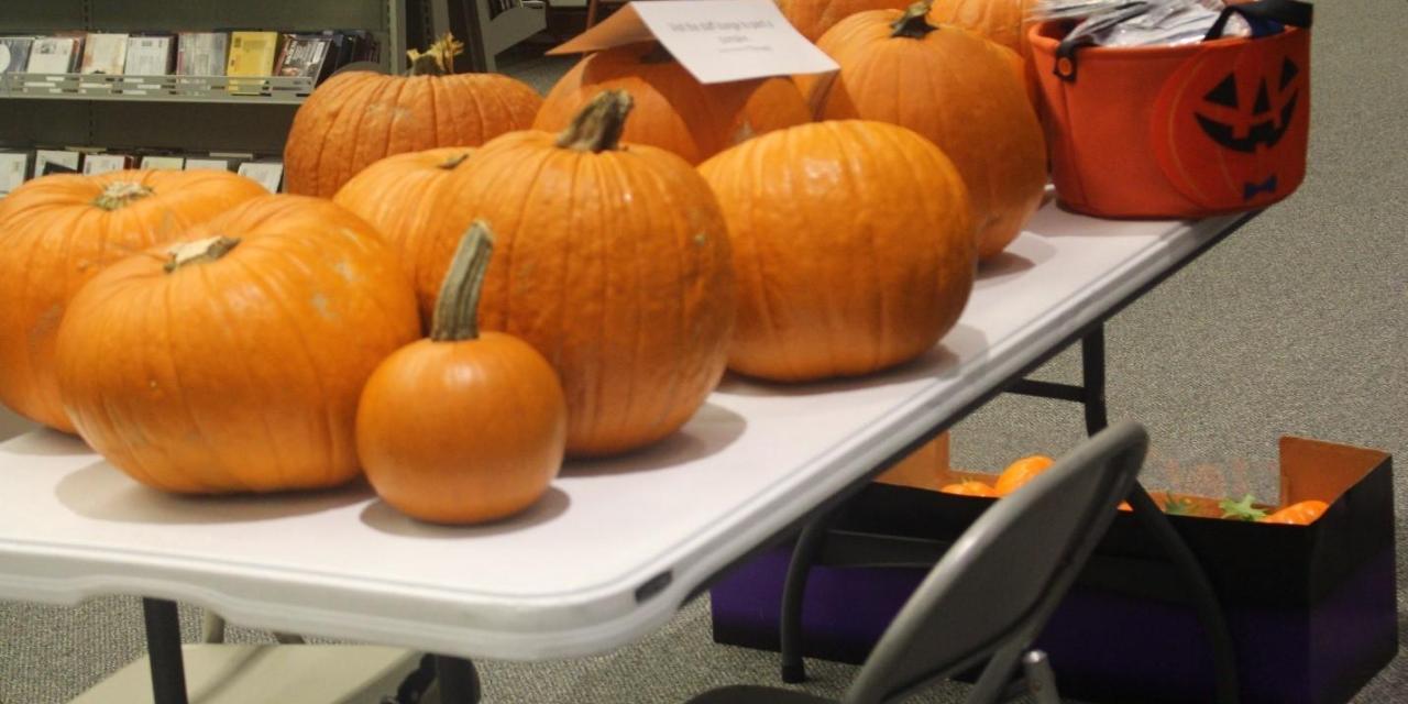 Wesleyan celebrates Halloween with Pumpkins in the Grove