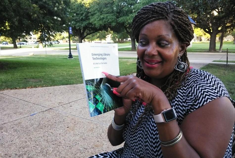 Doctoral student doubles as author