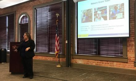 Information on new Makers Lab presented at 2020 Town Hall meeting