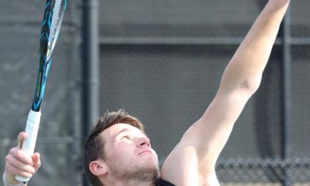 Ram tennis teams swing into action