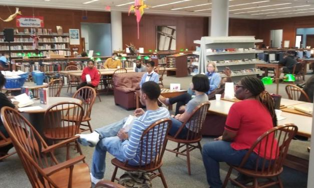 "West Library hosts ""The Hate U Give"" reading with BSA"