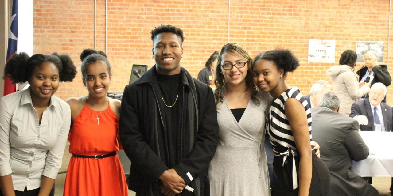 BSA closes Black History Month with a cookout