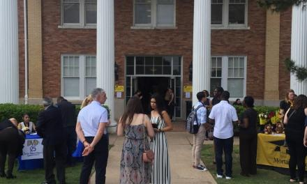 Robing convocation honors professors, graduates