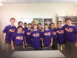 Prep students show their support for the cause