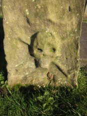 a skull and crossbones gravestone. A mason apparently, not a pirate!