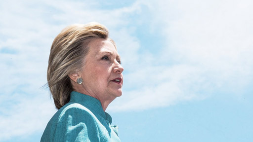 """Hillary Clinton trolled Donald Trump and the Republican Party on his use of the phrase """"Stronger Together"""" at his El Paso, Texas, rally last night."""