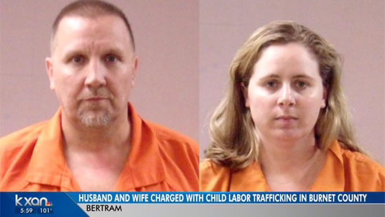 Husband and wife who previously ran 'conversion therapy camps' have been arrested in Texas on child trafficking charges