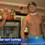 At a new coffee shop in Seattle, it's not just the coffee that's steaming hot