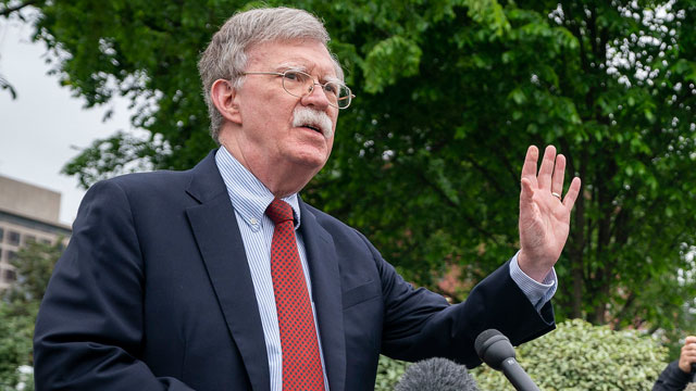 Former National Security Adviser John Bolton (image via White House - public domain)