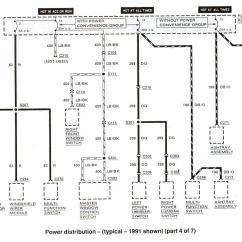 Early Bronco Wiring Diagram Dimarzio Humbucker Ford Ranger Ii Electrical Diagrams At The Station 1991 Shown 4 Of 7