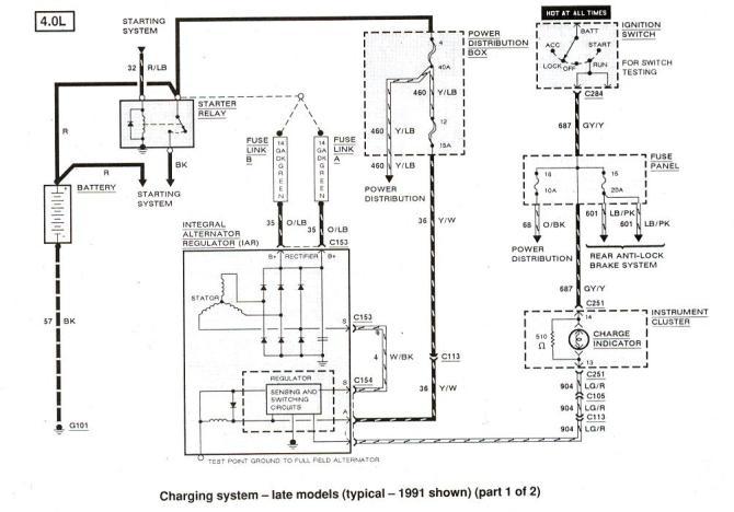 1991 ford explorer 4x4 wiring  center wiring diagram
