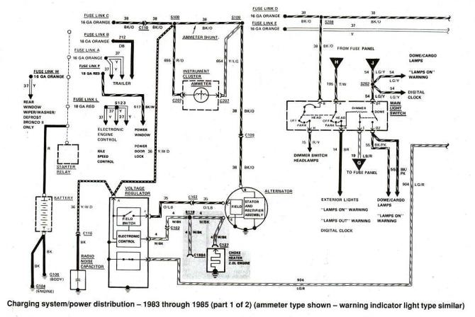 2001 ford ranger starter wiring  description wiring