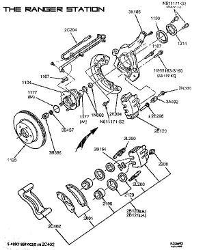 Ford RangerBronco II Wheels, Brakes & Steering