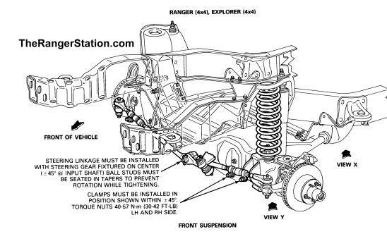2011 Ford F150 Front Axle Diagram