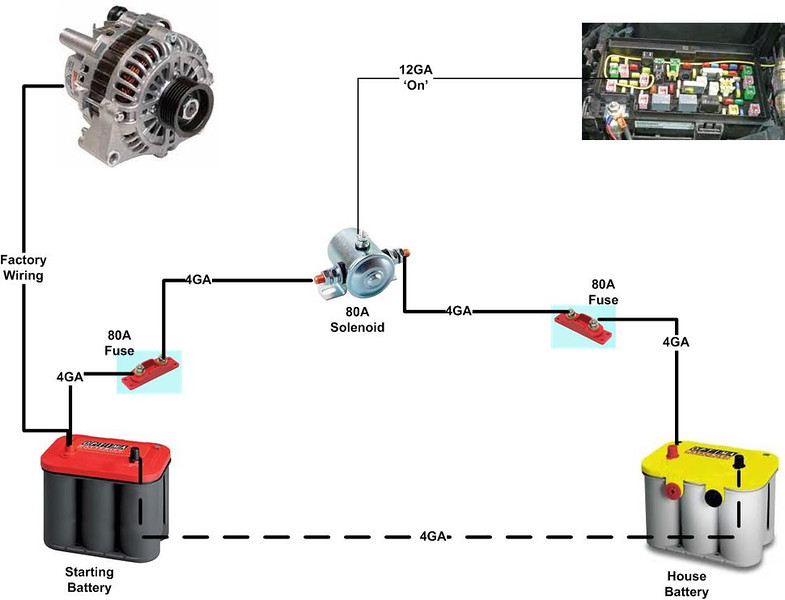 Trailer Light Relay Diagram