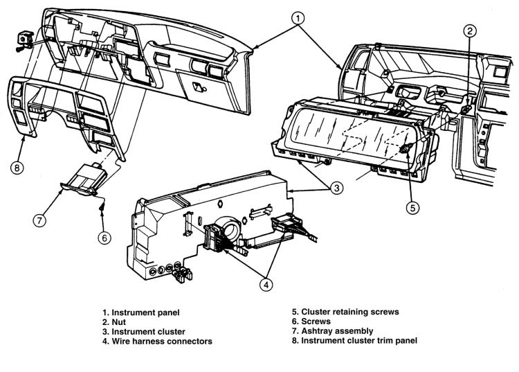 2000 ford ranger speedometer wiring diagram