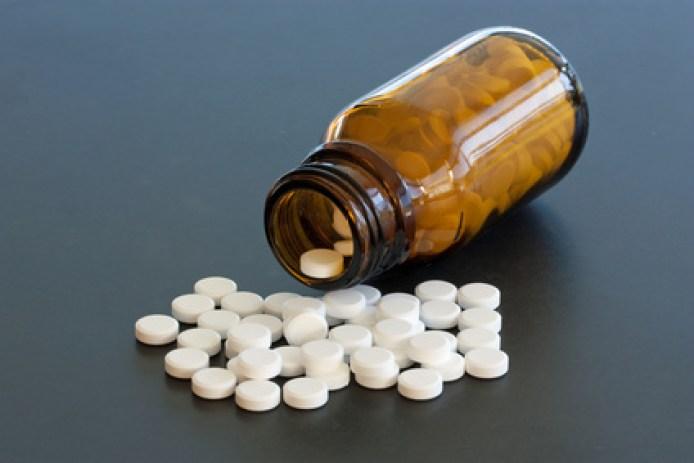 tablettenfläschchen, Tablettensucht