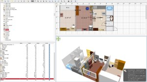 Sweet Home 3D で作図した実際例