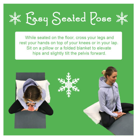 easy seated pose meditation portland