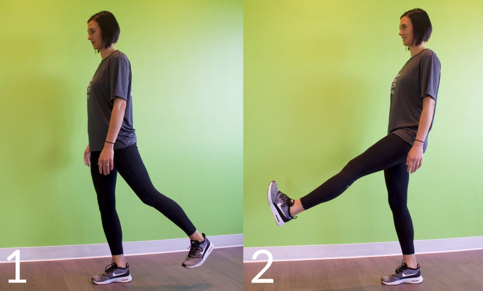 Leg Swing Exercise Dynamic Warmup Runners Run Injury
