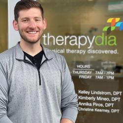 physical therapists Andrew Polenske, PT, DPT