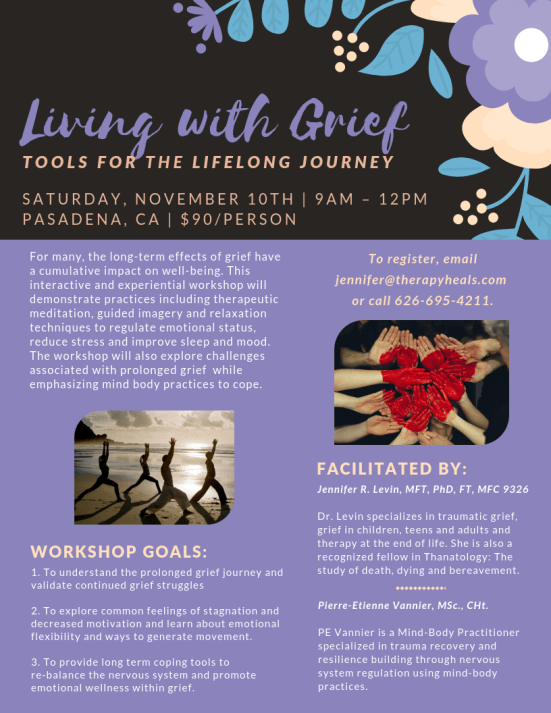 Nov 10, 2018 from 9am to 12pm in Pasadena.