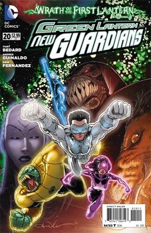Green Lantern New Guardians #20 Regular Aaron Kuder
