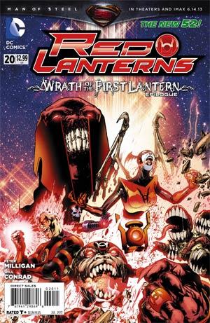 Red Lanterns #20 Regular Miguel Sepulveda