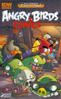 HCF 2014 Angry Bird Comics Mini-Comic
