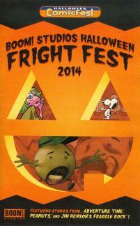 HCF 2014 BOOM Studios Halloween Fright Fest Mini-Comic