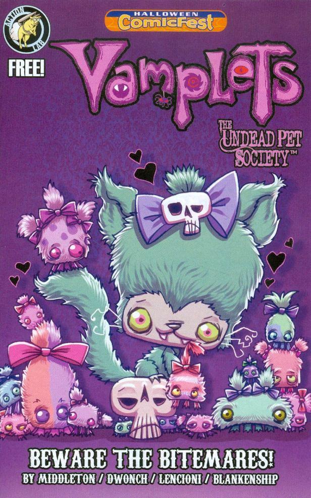 HCF 2014 Vamplets Undead Pet Society Mini-Comic