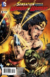 Sensation Comics Featuring Wonder Woman #3 Carrie Strachan, Joe Prado, Ivan Reis