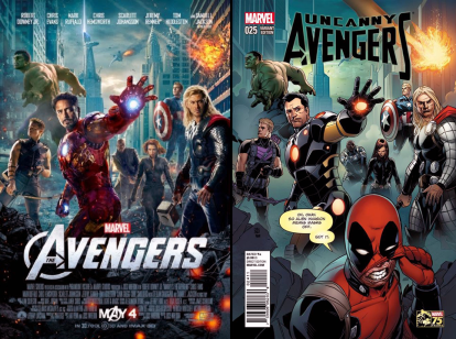 Uncanny Avengers #25 Incentive Khoi Pham Deadpool 75th Anniversary Photobomb Variant