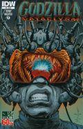 Godzilla Cataclysm #4 Cover A Regular Dave Wachter