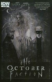 October Faction #2 Cover A Regular Damien Worm