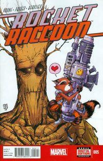 Rocket Raccoon Vol 2 #5 Cover A Regular Skottie Young