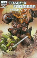 Transformers Primacy #4 Cover C Incentive Andrew Griffith 30th Anniversary Variant