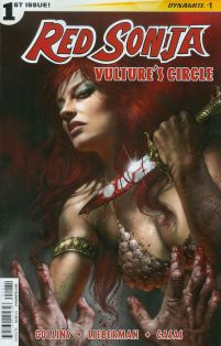Red Sonja Vultures Circle #1 Cover C Variant Lucio Parrillo Subscription