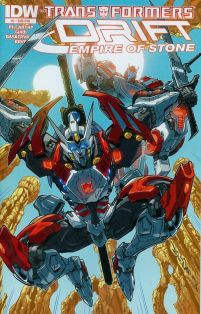 Transformers Drift Empire Of Stone #2 Cover B Variant Alex Milne Subscription